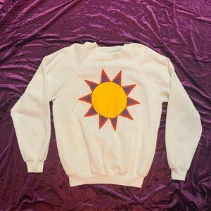 Vintage 80s Sun Sweater